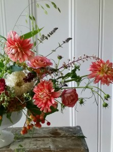 How my cottage garden has influenced my floral design style