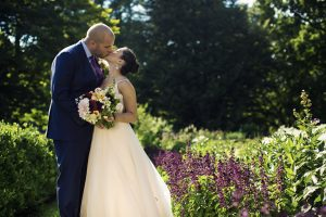 Nicole and Joseph Locust Grove garden wedding