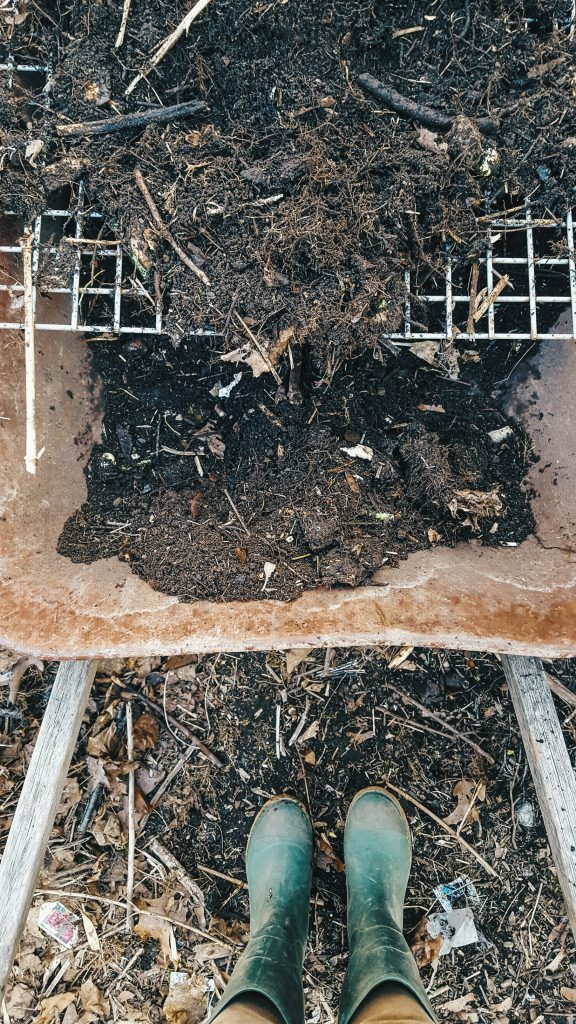 soil preparation for cottage style cutting garden