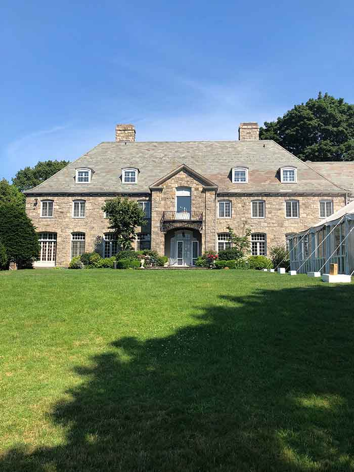 5 Romantic Wedding Venues in the Hudson Valley : Wainwright House