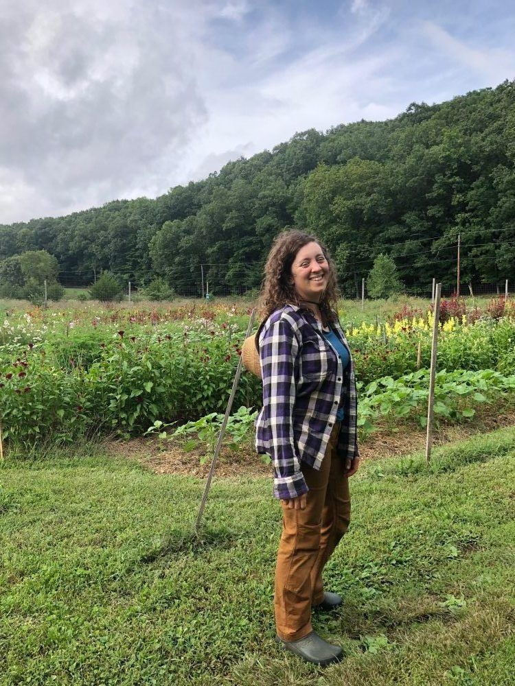 Meet Marybeth Wehrung of Stars of the Meadow, a Hudson River Valley Flower Farmer