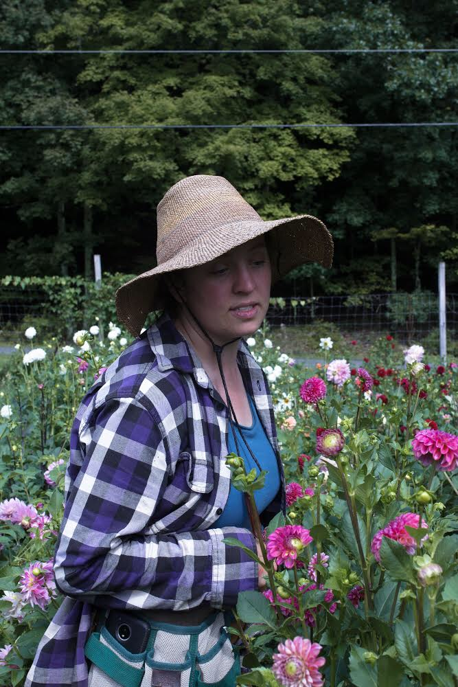 Marybeth Wehrung of Stars of the Meadow, Why Brides Prefer Locally Grown Seasonal Slow Flowers