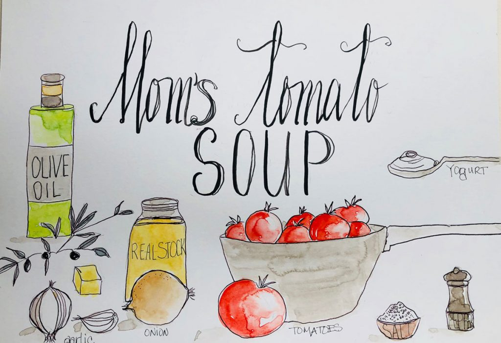 Mom's Healthy Tomato Soup Recipe | Gloria B. Collins