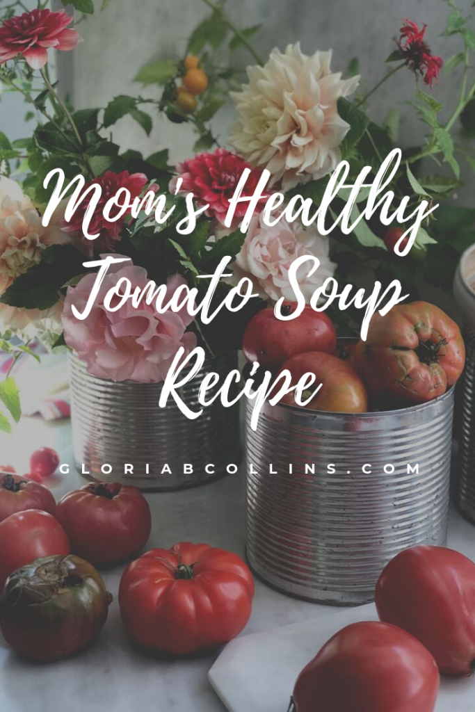Fresh tomatoes for Mom's Healthy Tomato Soup