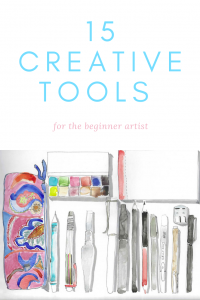 Sketching 101: 15 Creative Tools for the Beginner Artist | Gloria B. Collins