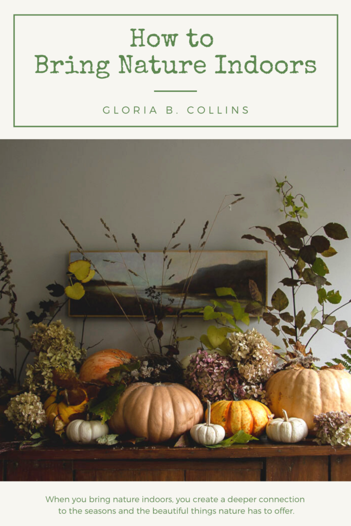 How to Bring Nature Indoors | Gloria B. Collins